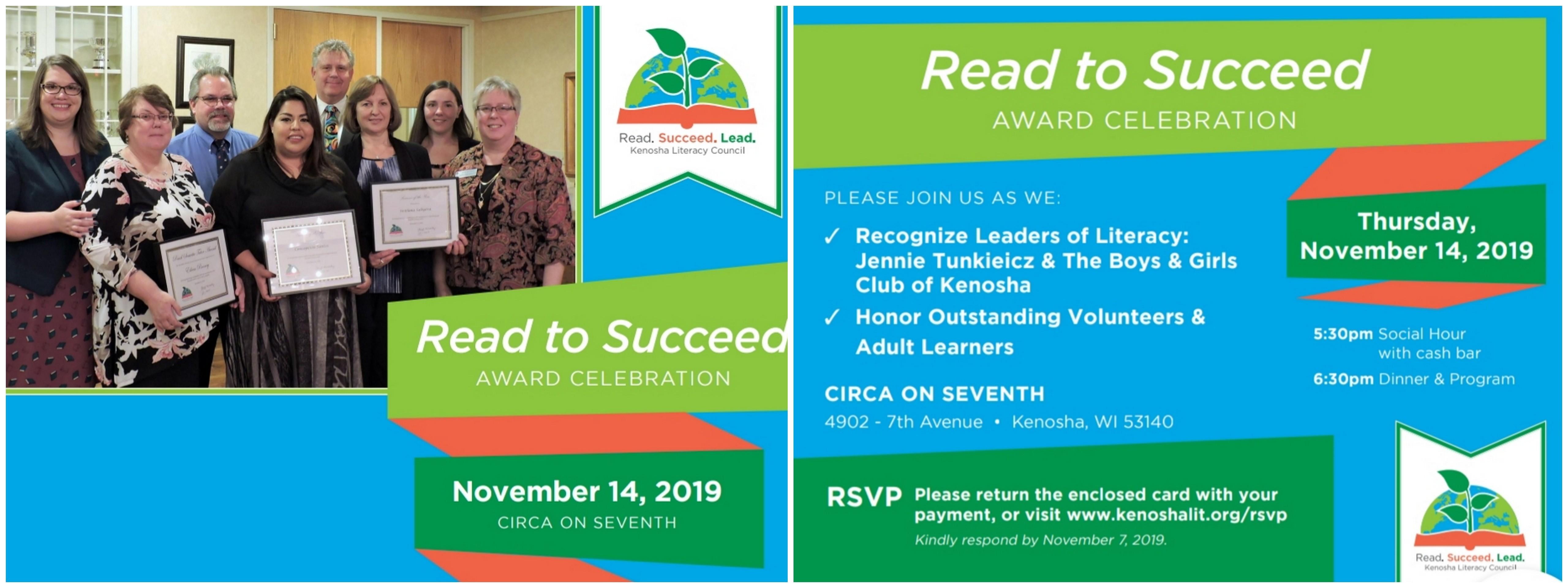 Read to Succeed Invitation