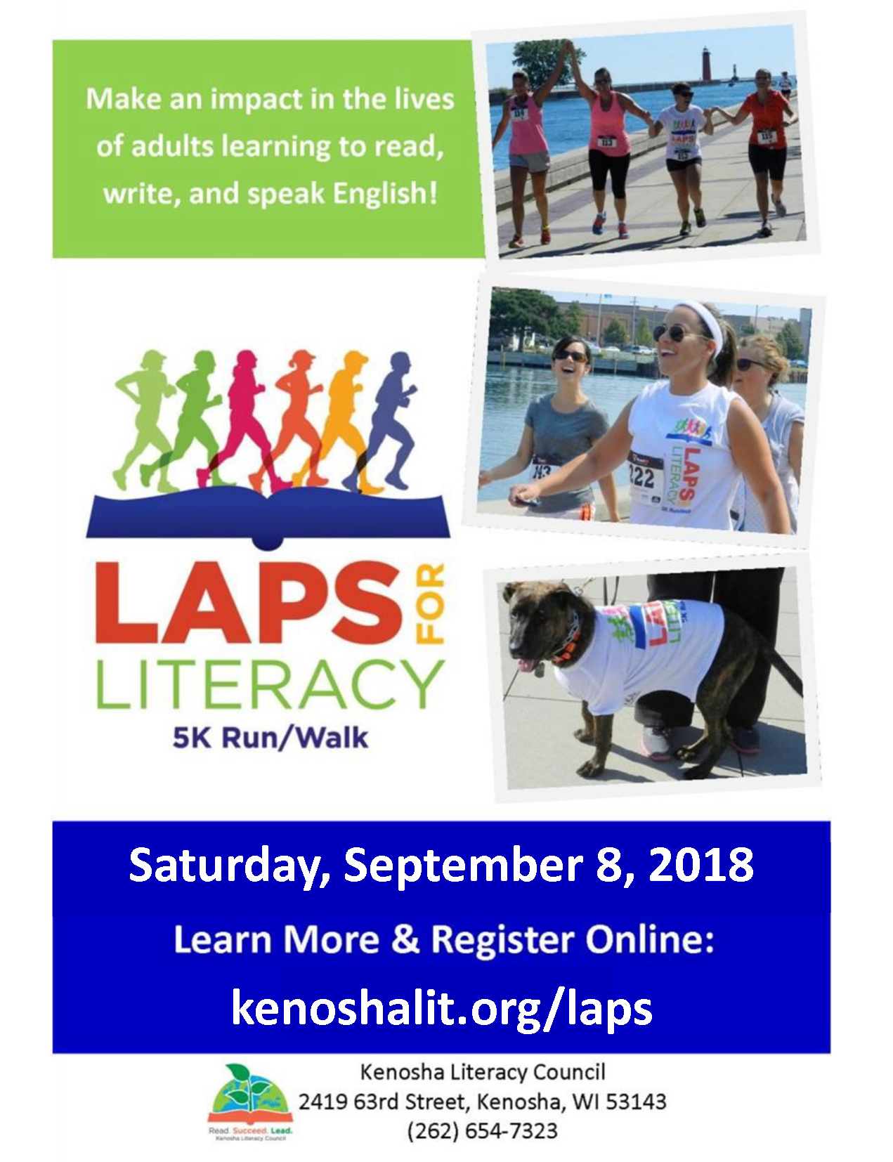 Laps for Literacy