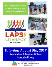 Laps for Literacy Save the Date
